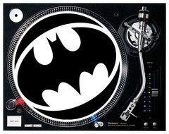Batman Logo DJ / Turntable Slipmats ( PAIR) | DJ4DJ -