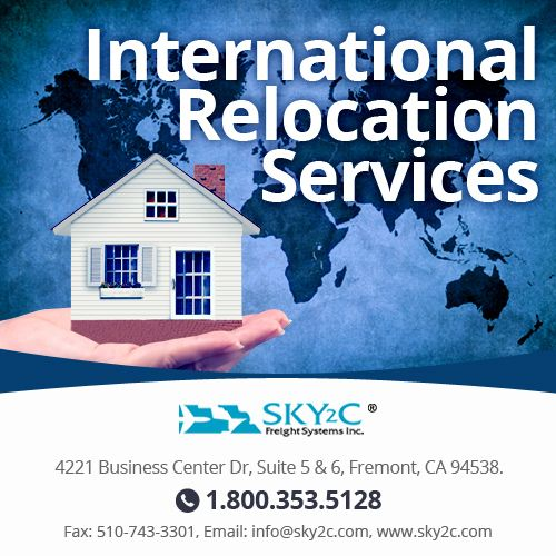 Are you needed to ship household items overseas? Sky2c Freight Systems provides hassle-free #relocation services and take cares your goods at affordable rates.