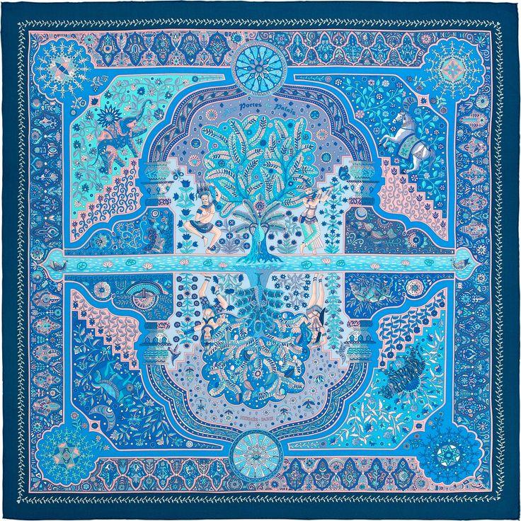 Châle Hermès   Aux Portes du Palais - Réf. : H242456S 08 (895€)
