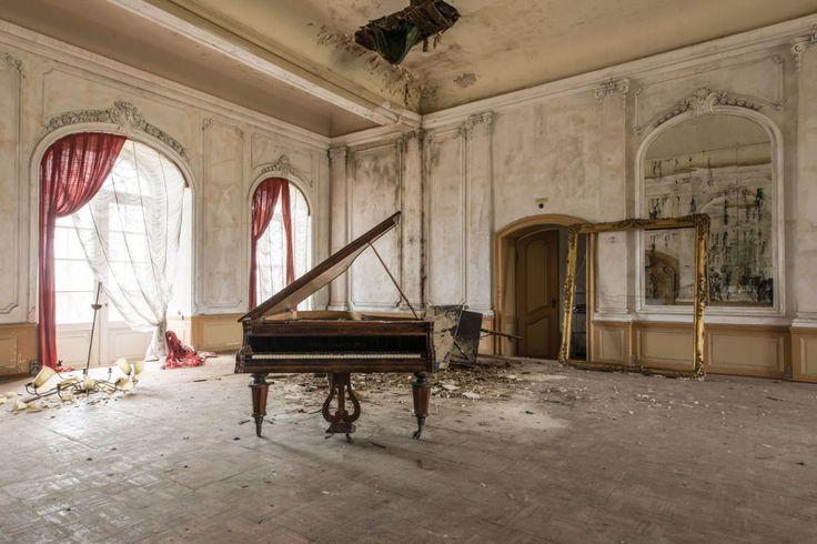 Deze man fotografeerde verlaten plekken in Europa en het is prachtig | ELLE Decoration NL