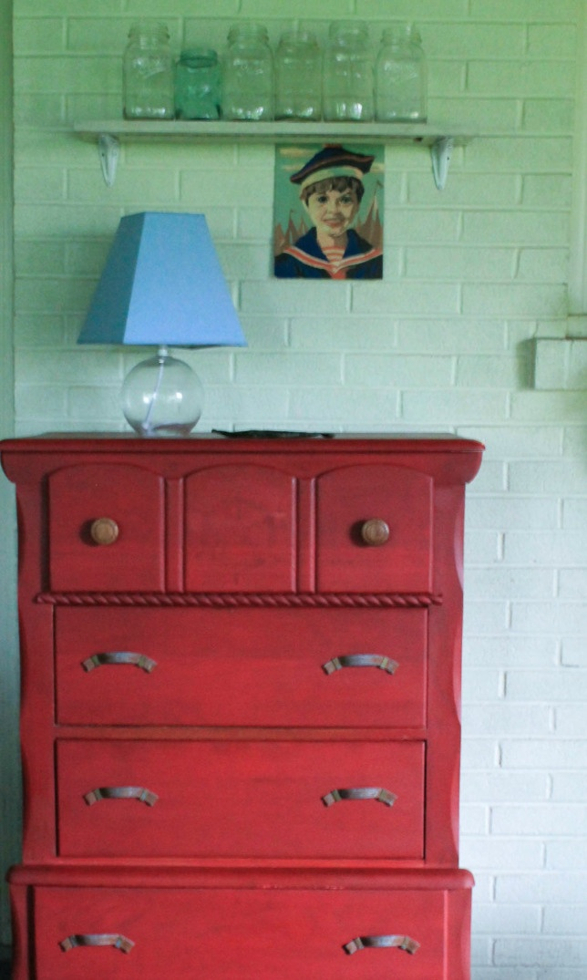 Tricycle MMS Milk Paint Nautical Dresser Done By Dana Of Circa Dee