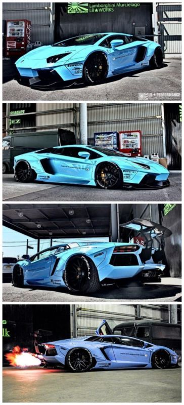 BOOM! Liberty Walk Aventador - Prepare to be blown away! #spon #supercars