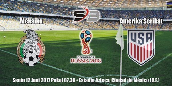 Prediksi Bola Meksiko vs Amerika Serikat 12 Juni 2017
