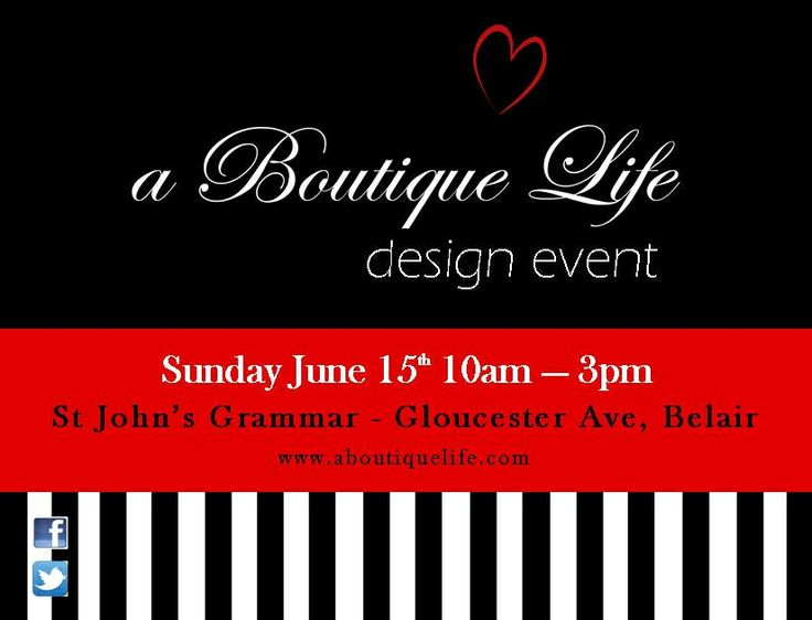 A Boutique Life Design Event Sunday 15 June 10-3pm