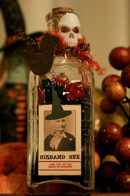 Husband Hex! Perfect altered bottle!!! =-)