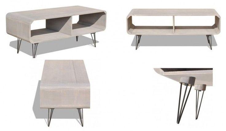 Modern TV Cabinet Living Room Decor Gray Coffee Table Home Furniture Storage  #ModernTVCabinet #Modern