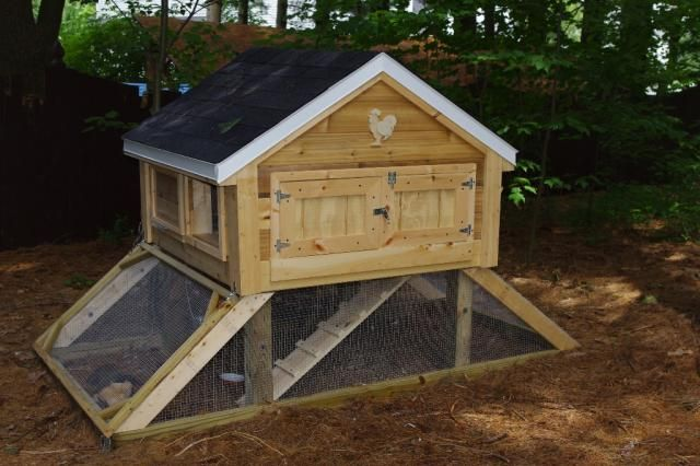 Coop Idea- in case my girls need a summer home.: Backyard Chickens, Awesome Backyard, Co Op Ideas, Awesome Coops, Cute Chicken Coops, Coupe Ideas, Backyard Chicken Coops, Chicken Coupe, Coops Ideas