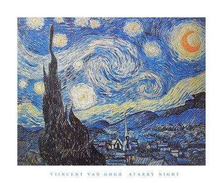 Starry Night Vincent Van Gogh #impressionism