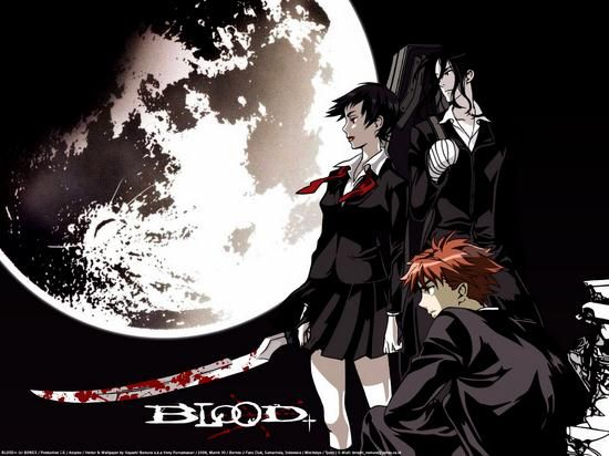 blood | Coolest Windows 7 Blood+ Theme For Anime Addicts