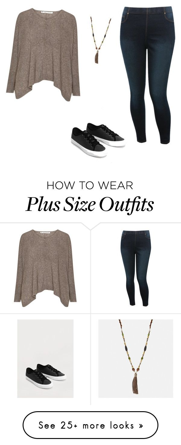 """Untitled #1"" by tindra-sotnosen-mellwing on Polyvore featuring M&Co, MANGO and Avenue"