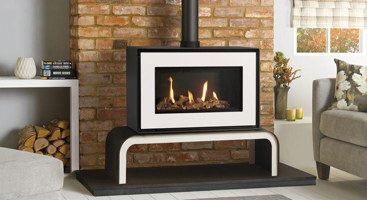 Studio 1 Free standing Gas Fires - Gazco Contemporary Stoves.