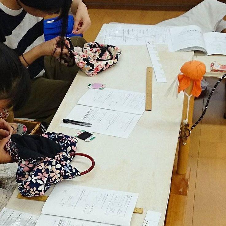 グラニーバッグ作り体験  ほのぼのとした体験会になりました! #グラニーバッグ #体験会 #もの作り #ちくちく #裁縫 #和裁 #東亜和裁 #toawasai
