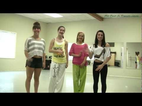 Party Rock Anthem Shuffle Dance Tutorial - Part 1