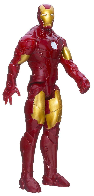 Une figurine du super héro Marvel #IronMan