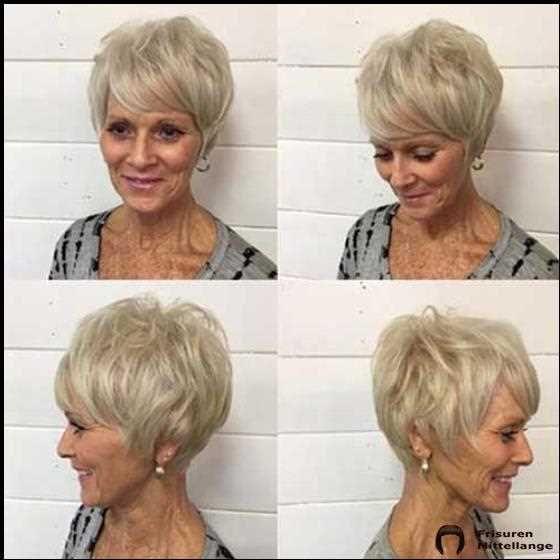 Kurzhaarfrisuren für ältere Frauen mit dünnem Haar 2019 ...