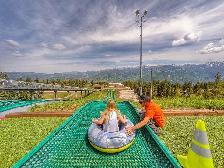 Vail Mountain isn't just for skiing. Go tubing, zip lining and much more during the summer at Epic Discovery.