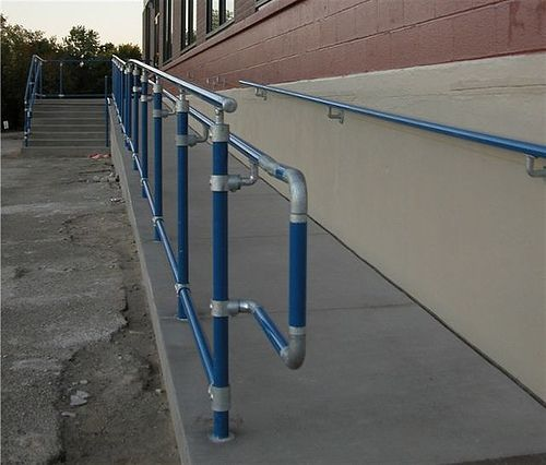 ADA U0026 OSHA Handrail Design   Andy Pease   Blog   Projects, Ideas,  Inspiration, Kee Klamp, Fittings | Handicap | Pinterest | Project Ideas