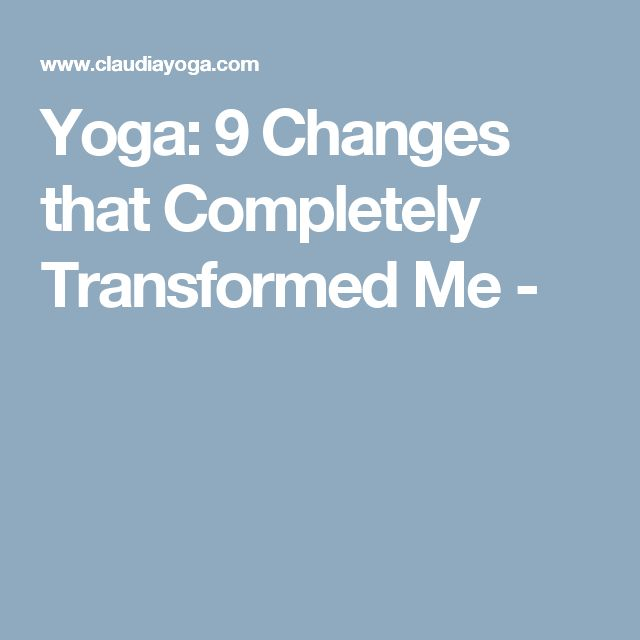 1345 best self care images on pinterest book lists books to read yoga 9 changes that completely transformed me fandeluxe Choice Image