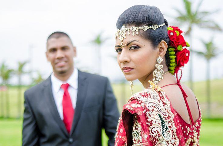 Tamil wedding in Durban, traditional Tamil bride