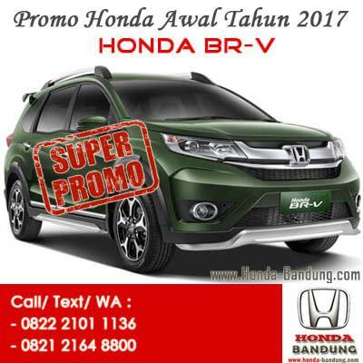 Promo Paket Kredit Super Deal DP Ringan Honda BR-V 2017 Bandung. Sales: 082221011136
