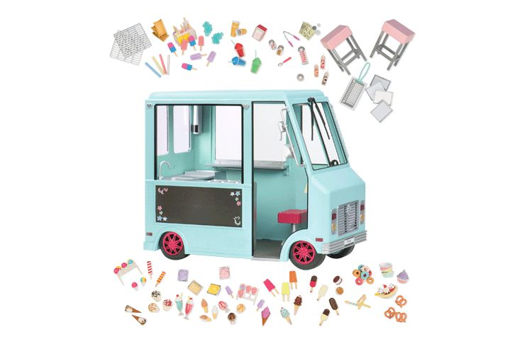 Sweet Stop Ice Cream Truck Our Generation Dolls