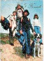 Postkarte (Fünf Freunde auf großer Fahrt)