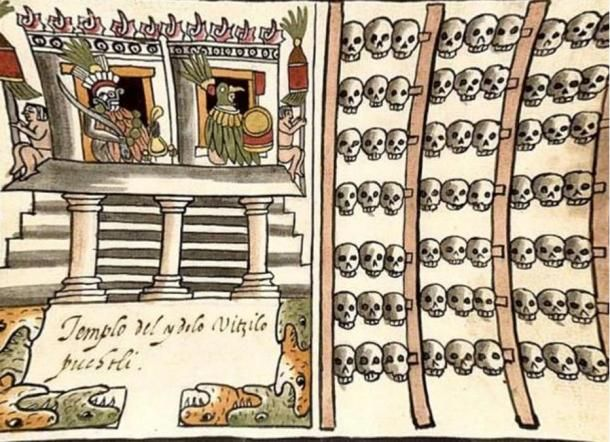 A new study says the people sacrificed centuries ago by the Mexica (Aztec) at Tenochtitlan weren't all prisoners of war killed just a short while after they were captured. Some of them, includin