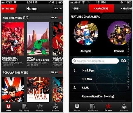 Marvel unveils iOS comic book subscription service Marvel Unlimited. Users can subscribe for US$10 a month to access a catalog of over 13,000 Marvel comics back issues. For a limited time, users can also pay for a year's subscription for only $60. The service serves up the comics in HTML5 and allows users to download six issues at a time. ... #Apps #Software #MobileApps #Android #iOS