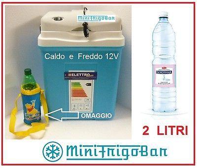 Frigorifero Mini Frigo Portatile Piccolo da Viaggio Elettrico 12V in Auto 30 Lt