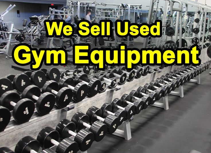 Gym Equipment for Sale - New, Used, and Refurbished - YouTube