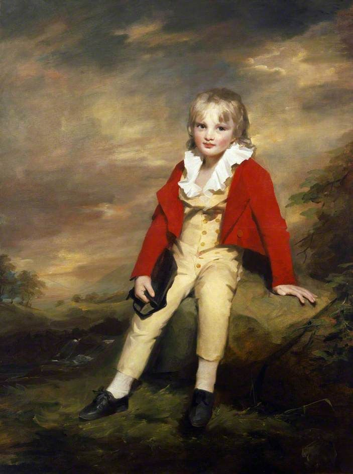 Portrait of Sir George Sinclair of Ulbster (1790–1868), as a Child, c.1796-97 by Sir Henry Raeburn (Scottish 1756-1823)