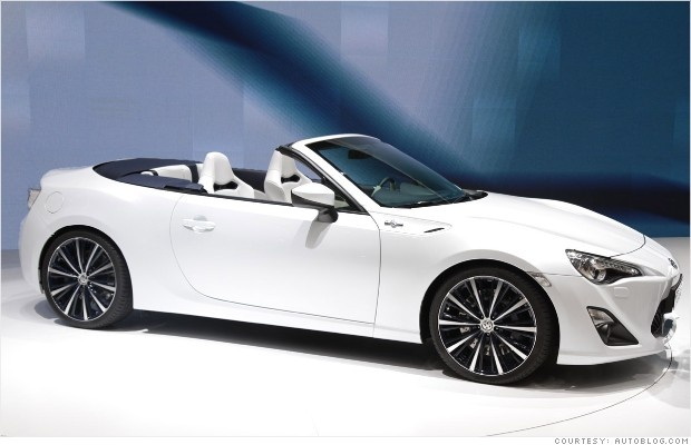 Toyota FT-86 convertible concept
