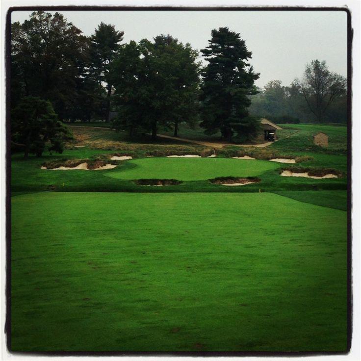Par 5, #4 at Merion Golf Club