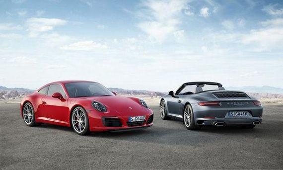 Спорткар Porsche 911 Carrera и Boxer 2016 / Порше 911 Каррера и Боксер 2016