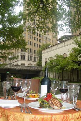 The San Antonio Riverwalk is one of Texas' most popular tourist attraction. The Riverwalk is also home to some of San Antonio's finest restaurants.