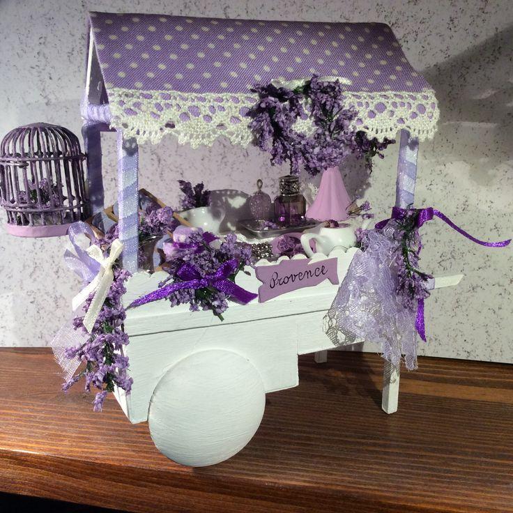 Lavender cart