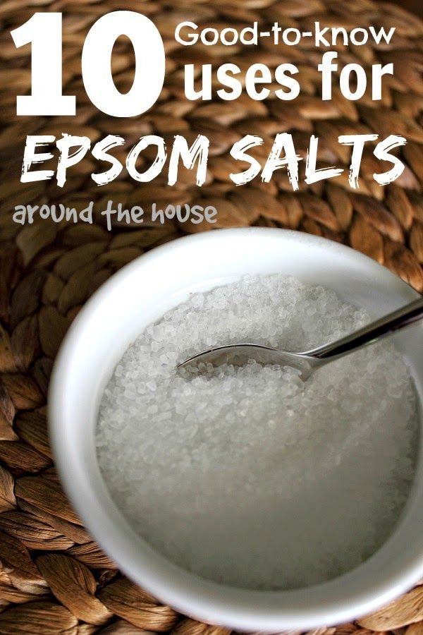 Epsom Salt can be used all around the home! Here are some of the very best tips and tricks to get you started on taking advantage of all the benefits!