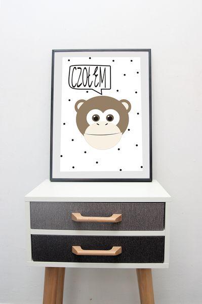 Plakat+CZOŁEM+w++CYTRYNA+design+na+DaWanda.com