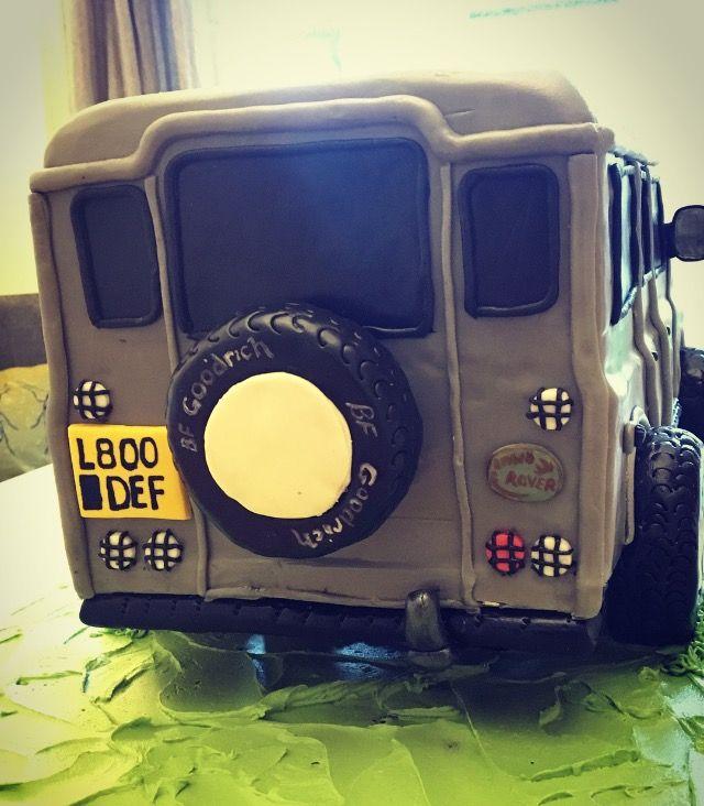 Land Rover cake #landrover #landrovercake