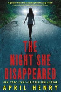 http://www.adlibris.com/se/organisationer/product.aspx?isbn=1250016746 | Titel: The Night She Disappeared - Författare: April Henry - ISBN: 1250016746 - Pris: 98 kr