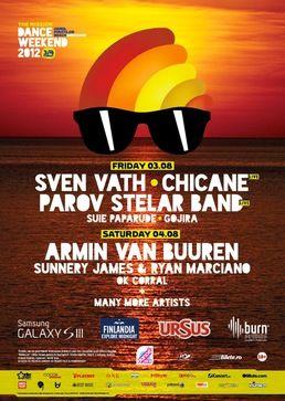 THE MISSION DANCE WEEKEND 2012: Armin van Buuren!