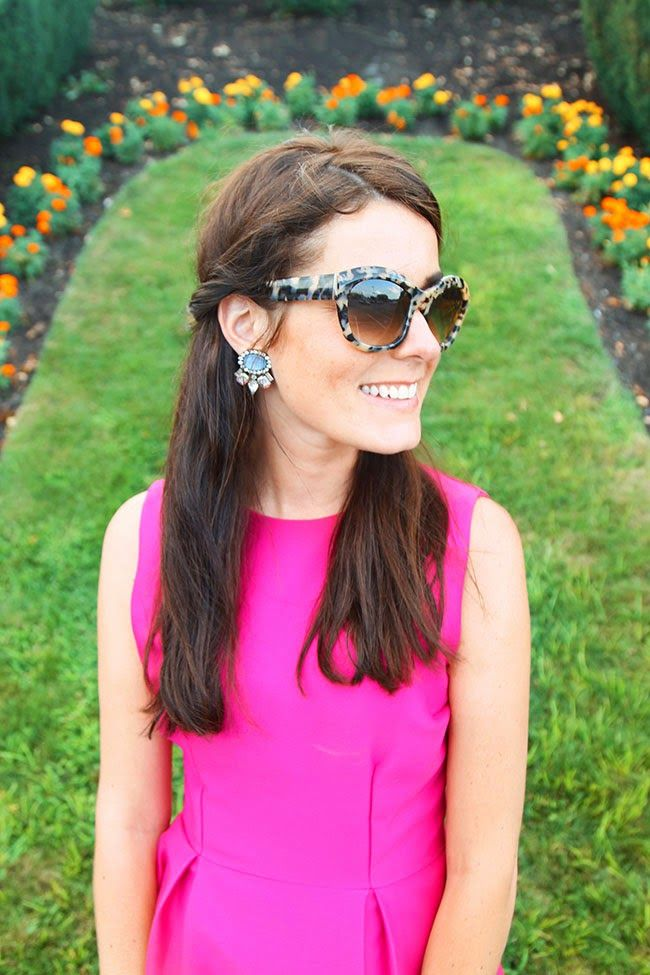 Classy Girls Wear Pearls wearing Kate Spade sunglasses. Shop Kate Spade for less! Learn how.