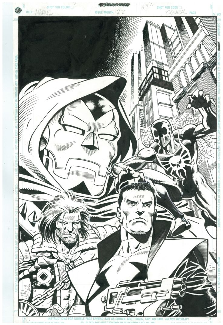 Sales To Astonish #1 Cover by Ty Templeton (FIRST APPEARANCE MARVEL 2099, FIRST SPIDER-MAN 2099, RAVAGE 2099, PUNISHER 2099, AND DOOM 2099) Comic Art