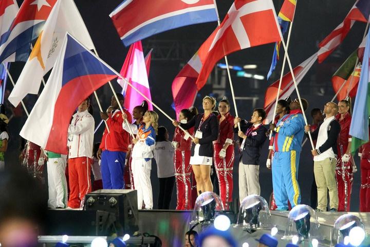 Slavnostní zakončení XXX. Letních olympijských her v Londýně 2012