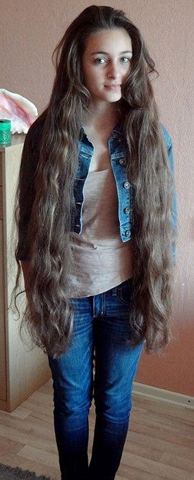 long hair.......................