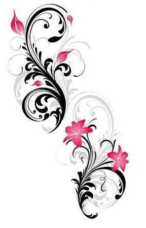 : Rose's Rib Tattoo- love this