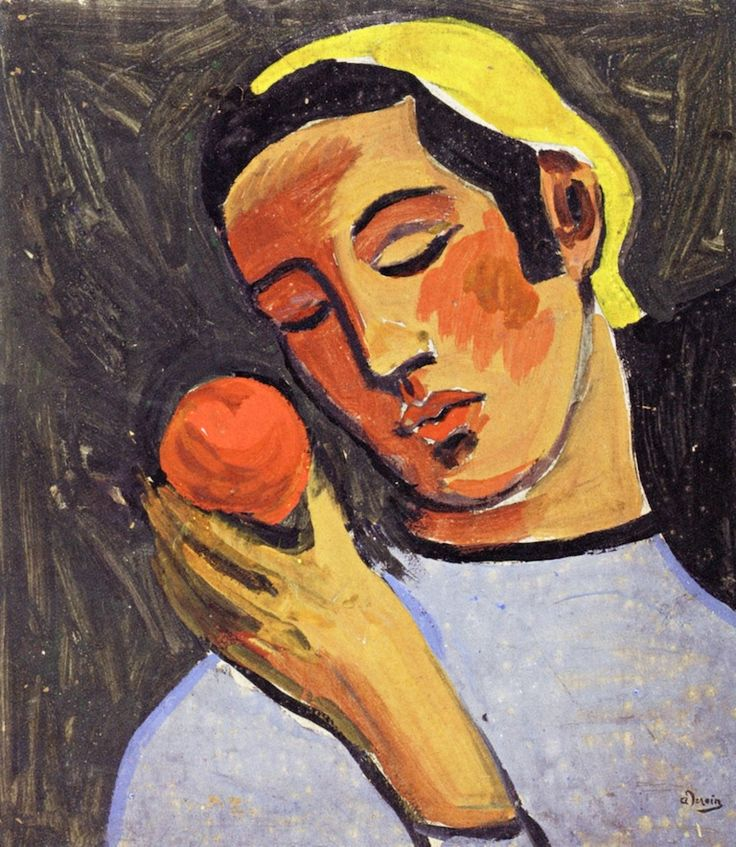 ALONGTIMEALONE: bofransson: The Apple Andre Derain