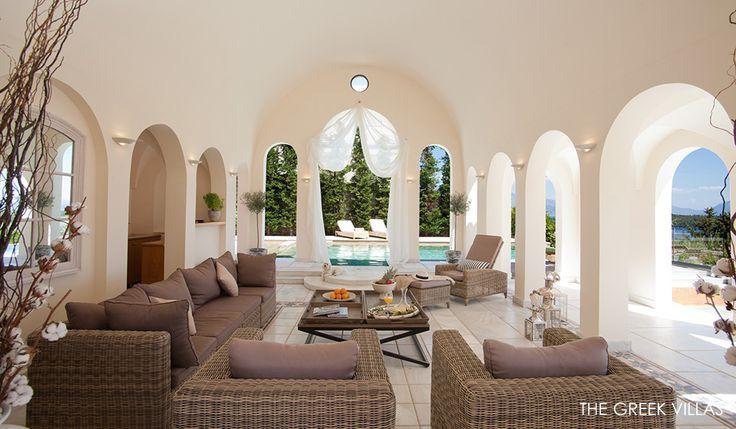 Lefkada Luxury Villas, Luxury Villa rentals in Lefkada , Villa Saffron, Ionian Islands, Greece