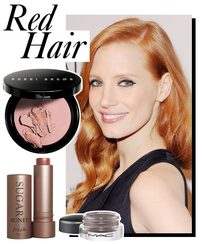 Best Makeup for Redheads Celebrity Beauty Tips - ELLE