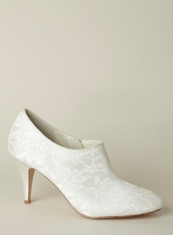 GBP1350 BHS Sale Lace Wedding ShoesBridal